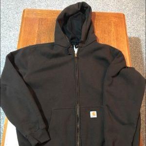 Carhartt insulated heavyweight zip sweatshirt